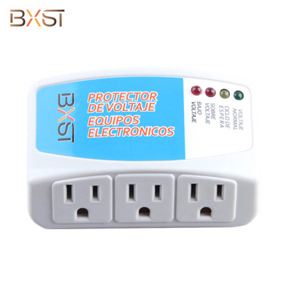 BX-V008 120V Three Us Socket Voltage Surge Protector for Household Appliances