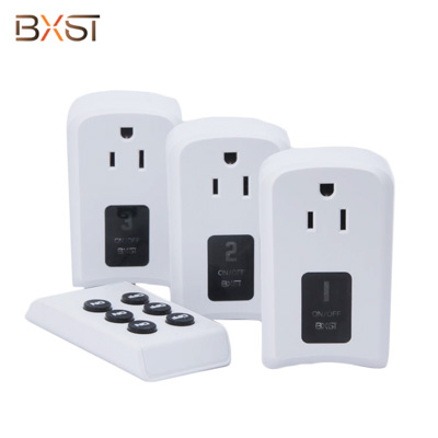BX-RF-02-US US Standard 110V 30M Mini Fashion Smart Home Remote Control with PC Material