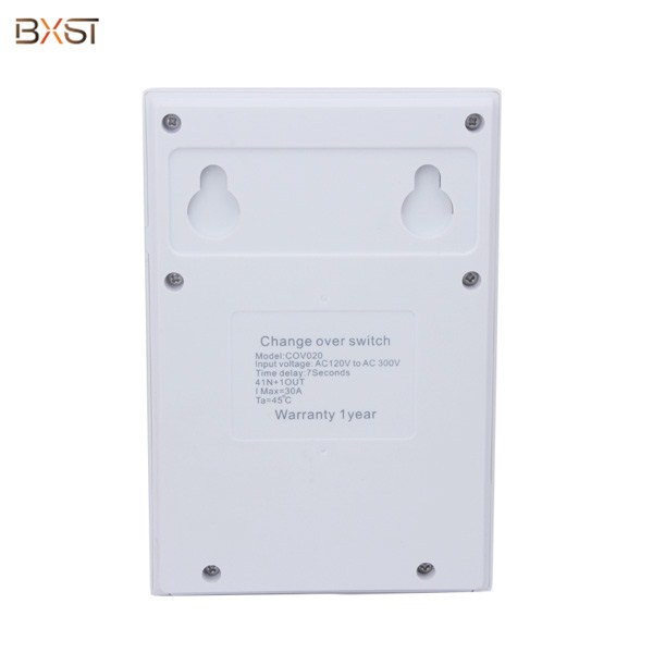 BX-COV020-D Single Phase Four Way 30A Automatic Transfer