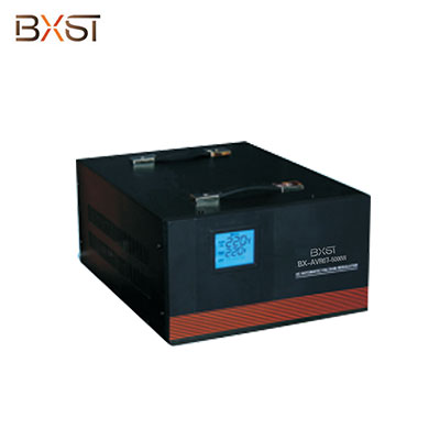 BX-AVR07-5000W 5000W Microprocessor Control Single Phase Voltage Regulator Variable Transformer with LCD
