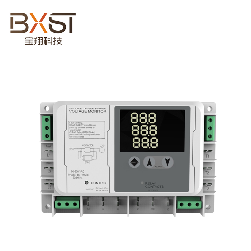 BX-V178 New Product Home Relay Controlled Three Phase Voltage Monitor