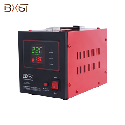 BX-VRD13 Single Phase Automatic Voltage Regulator Stabilizer with On-Off Switch and Led