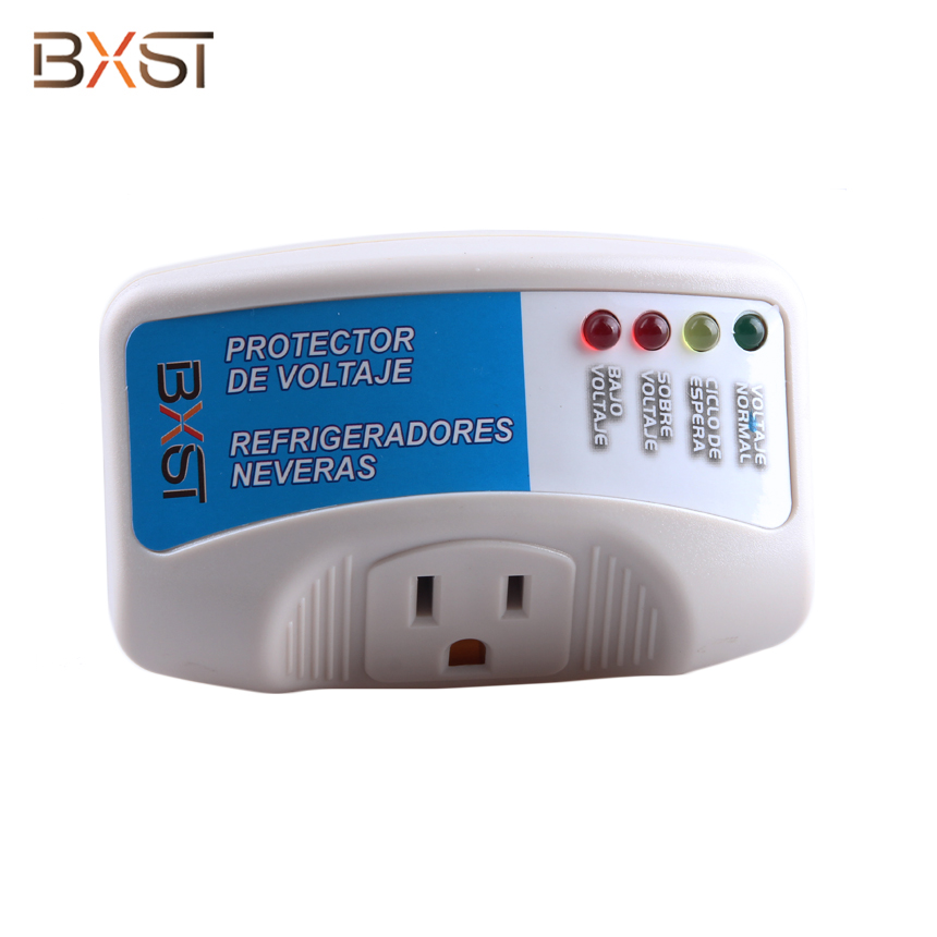 BX-V009-N US 120V 15A Automatic Voltage Surge Protector for Refrigerator Household Appliances